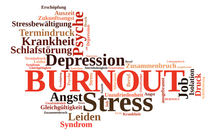 Fotolia 60229158 XS Wordcloud Burnout Stress